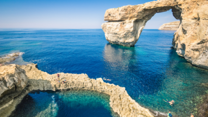 INMERSIÓN EN MALTA : Azur window Gozo