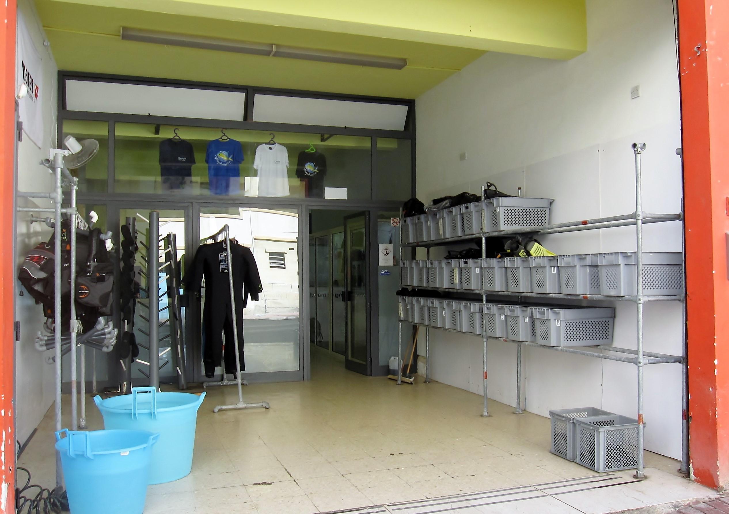 Nuestro centro Buceo-Malta