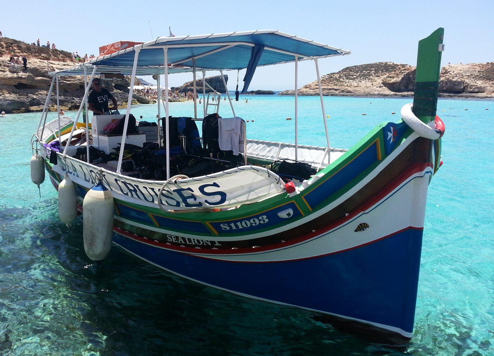 luzu  con Buceo-Malta
