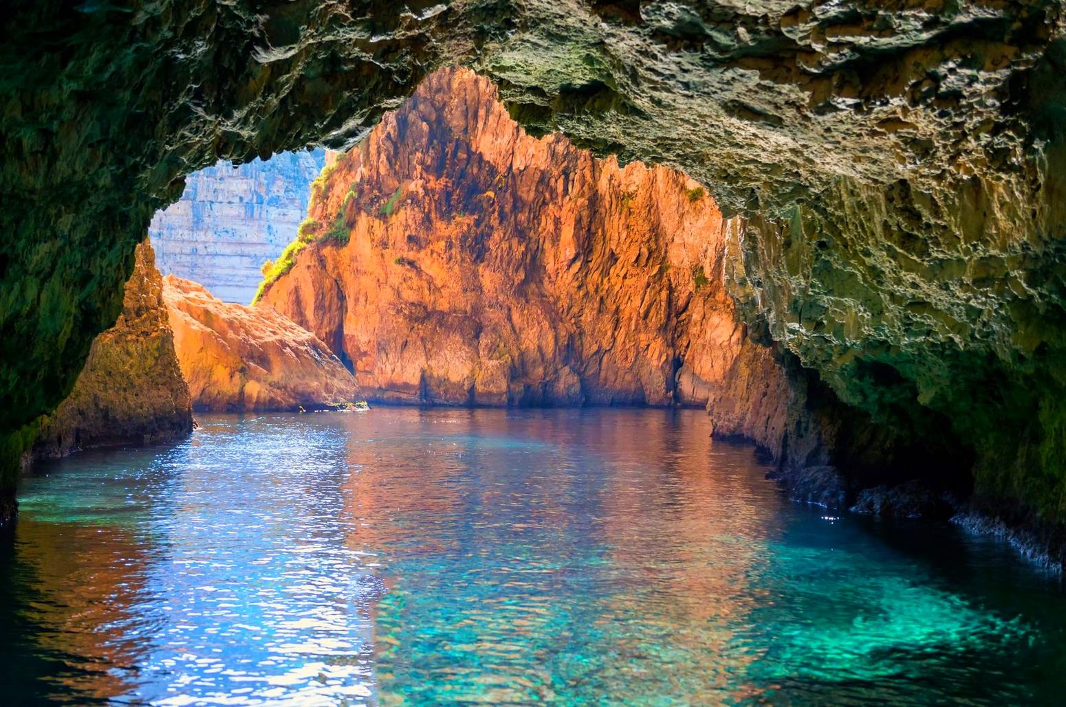 Blue grotto con Buceo-Malta