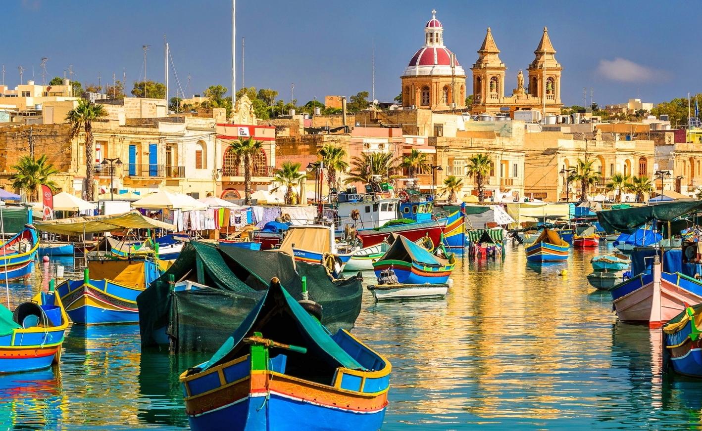 marsaxlokk  con Buceo-Malta